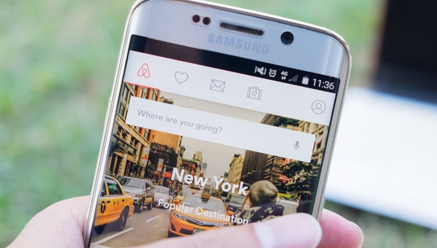 AirBnB, Reise-Apps