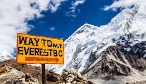Mount Everest besteigen